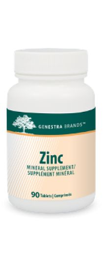Zinc by Genestra assists the immune system; A factor in the maintenance of good health; Helps the body to metabolize carbohydrates, fats and proteins; Helps in connective tissue formation and helps to maintain healthy skin; Helps to prevent zinc deficiency.