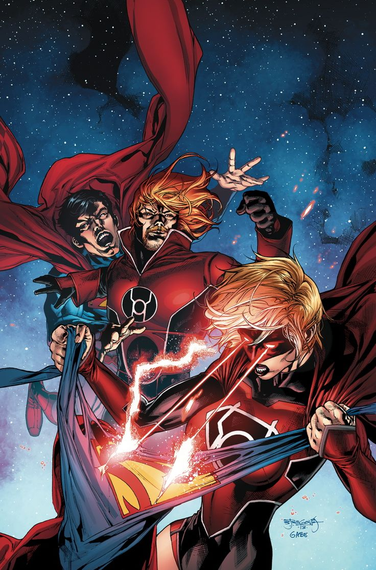 RED LANTERNS #29 Written by CHARLES SOULE Art by ALESSANDRO VITTI Cover by STEPHEN SEGOVIA On sale MARCH 26 • 32 pg, FC, $2.99 US • RATED T+ The Reds have found their newest recruit: Supergirl! Guy Gardner is hardly equipped to handle a teenaged Kryptonian Red Lantern, so he heads for Earth and hand her off to her cousin, Superman! But Superman is…unimpressed by Guy's leadership skills – or lack thereof…