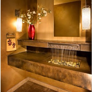 Rocks Bathroom Sink : Rocks -N- My Bathroom Sink on Pinterest Old bathrooms, Bed bath ...