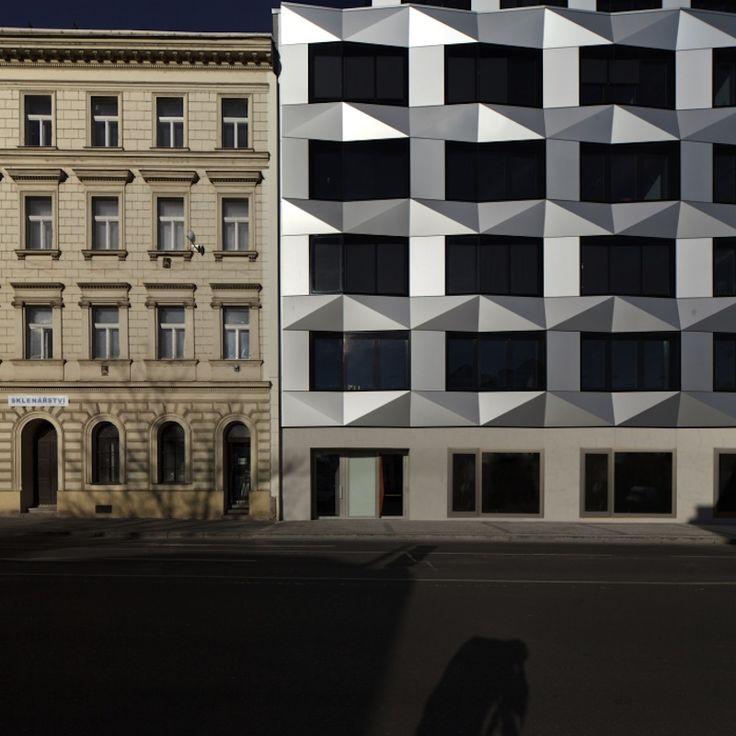 Swiss architects EM2N go to Prague and nod to Czech cubism