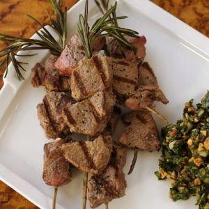 recipes peruvian cuisine joanne weir lamb skewers kebabs grilled lamb ...