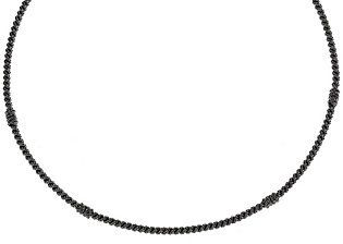 "Judith Ripka Sterling 20"" Textured Collar Necklace"