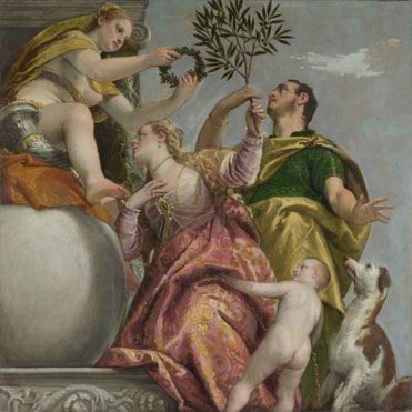 Happy Union about 1575, Paolo Veronese This painting is part of the group: Four Allegories of Love