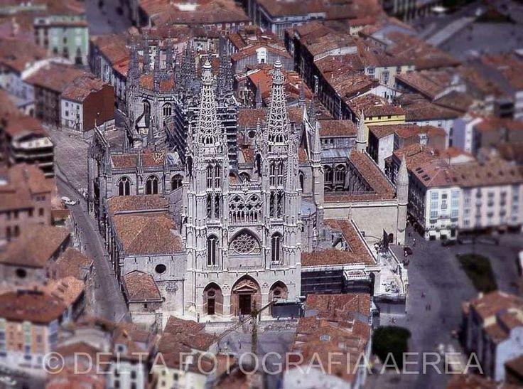 Catedral de Burgos. ©Delta Fotografía Aèria.