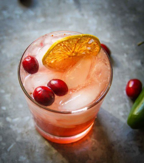Thanksgiving Libations: Spicy Ginger Cran-Cherry Cocktail