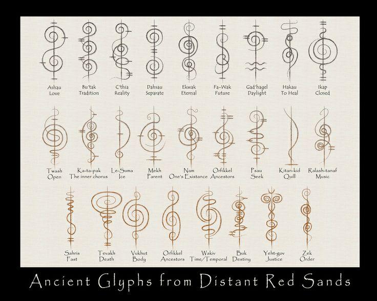 Vulcan caligraphy