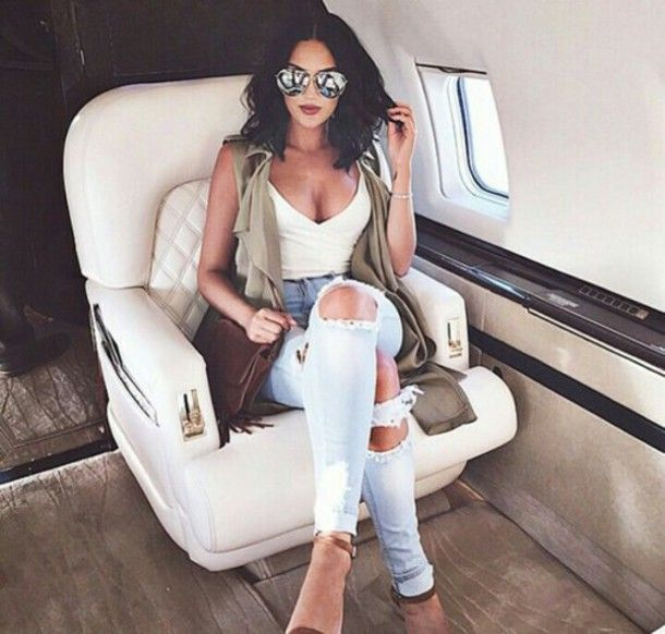 pants boyfriend jeans skinny jeans skinny pants ripped jeans sunglasses cardigan t-shirt top high heels cute high heels tank top fashion style beautiful shoes bag jeans denim private jet cute outfits outgit outfit j brand zara natalie halcro instagram