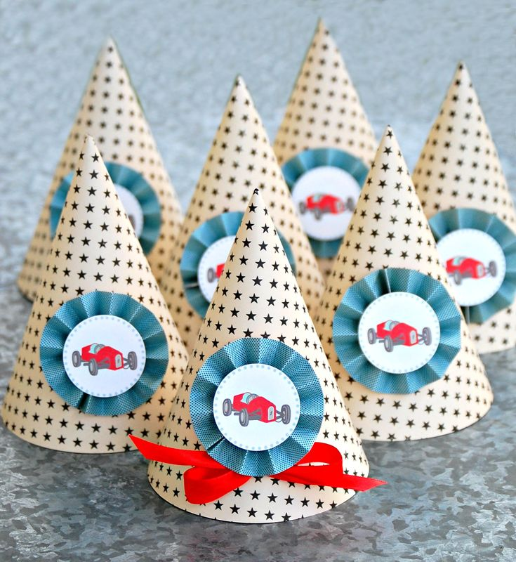 Racecar Toddler Bed Party Favors And Invitations For Birthdays