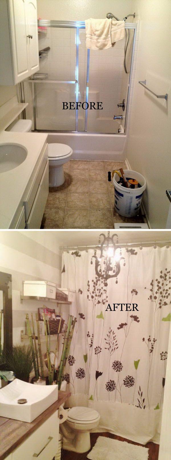 Bathroom Makeovers For Less best 25+ budget bathroom remodel ideas on pinterest | budget