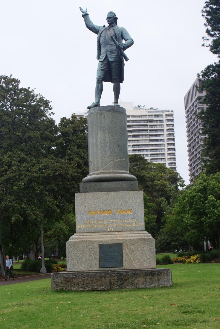 Captain Cook Statue (Hyde Park) - Sydney, Australia - AR2