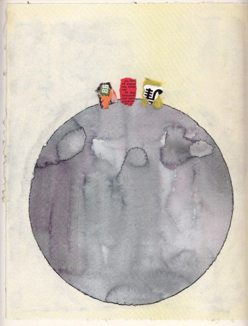 The Three Astronauts: A Vintage Semiotic Children's Book about Tolerance by Umberto Eco – Brain Pickings