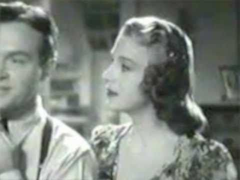 "Two Sleepy People - Shirley Ross & Bob Hope (1938 version, from ""Thanks for the Memory"" soundtrack)"
