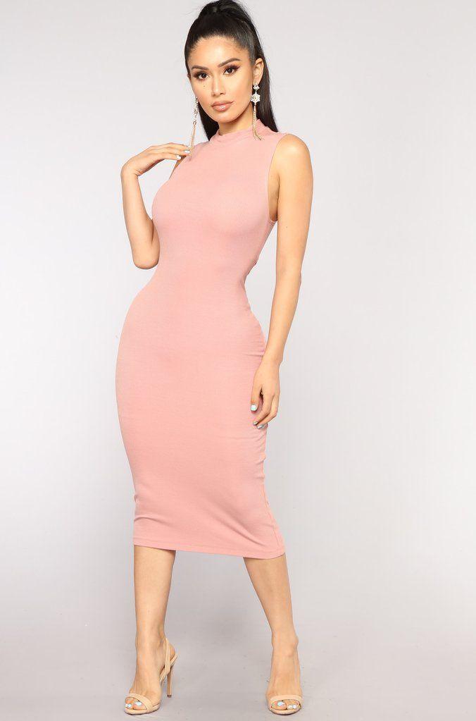 147d40d763 Rydell Midi Dress - Rose