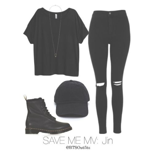-Camiseta negra. -Pantalón negro. -Botas negras. +Gorras negras.