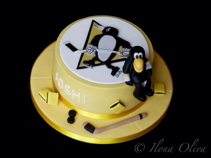 Little ice hockey cake, Pittsburgh Penguins