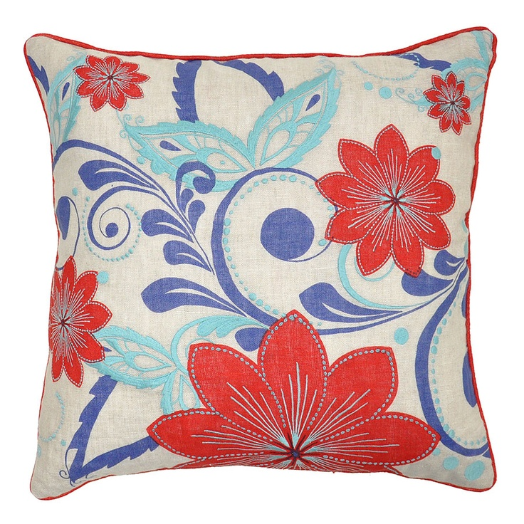 Indigo villa home collection living room pillows for Villa home collection pillows
