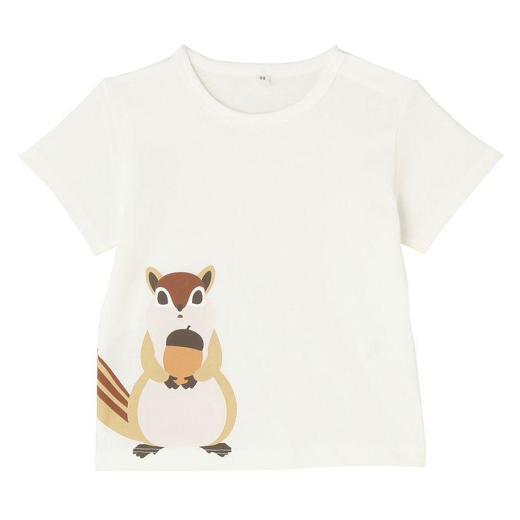 オーガニックコットンプリントTシャツ  無印良品ネットストア