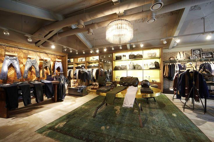 ORVETT per DIESEL / Diesel Store / Seul (KL) / Esprimiamo i valori del vostro brand realizzando spazi iconici.
