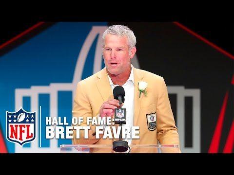 Brett Favre's Heartbreaking, Hilarious Hall of Fame Acceptance Speech