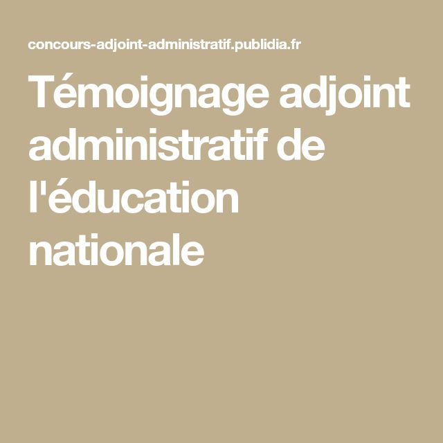 image lettre administrative concours adjoint administratif territorial modele cv