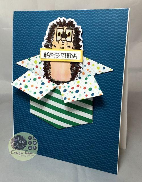 Hedgehog wishing you a Happy Birthday!