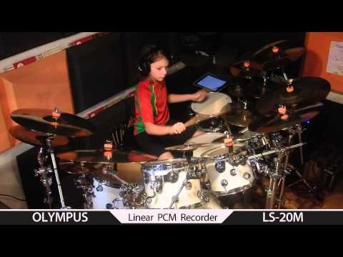 New version Gavin Harrison 19 Days drum cover by Igor Falecki (11 y old)