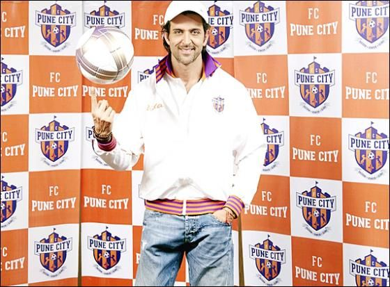 Hrithik Roshan is announced as the FC Pune City co-owner http://www.morningcable.com/entertainment/arts-and-entertainment/38027-hrithik-roshan-is-announced-as-the-fc-pune-city-co-owner.html  Bollywood super star Hrithik Roshan has been associated with the Indian Super League (ISL) bandwagon as he became the co-owner of FC Pune City. The Rajesh Wadhawan Group-owned Pune franchise announced its association with the star in Mumbai.