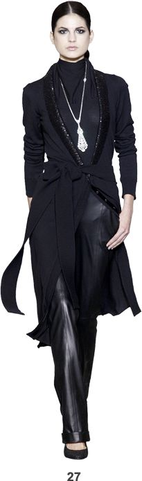 L'Wren Scott: chic and feminine ensemble--perfect for fall and winter.