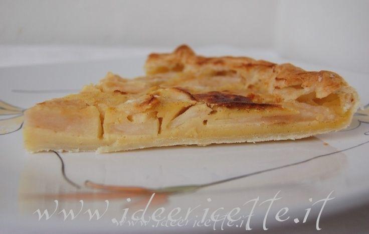 Ricetta Torta di pasta sfoglia alle mele con rafano e cannella