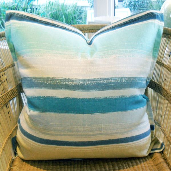 Blue Horizon - 60cm x 60cm - Inside Out Home Boutique - Available for order online at www.insideouthb.co.za