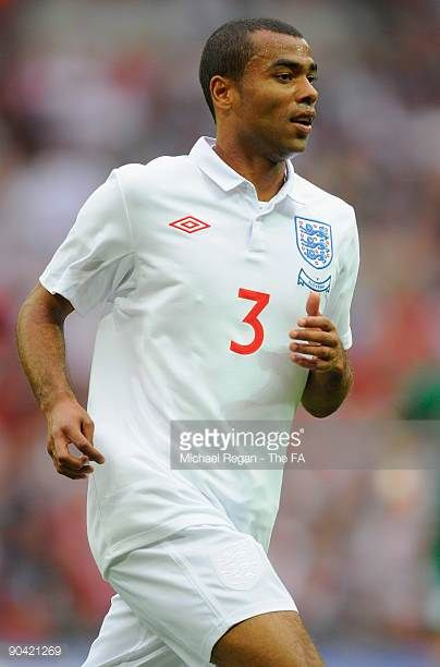 Ashley Cole of England during the International Friendly match between England and Slovenia at Wembley Stadium on September 5 2009 in London England