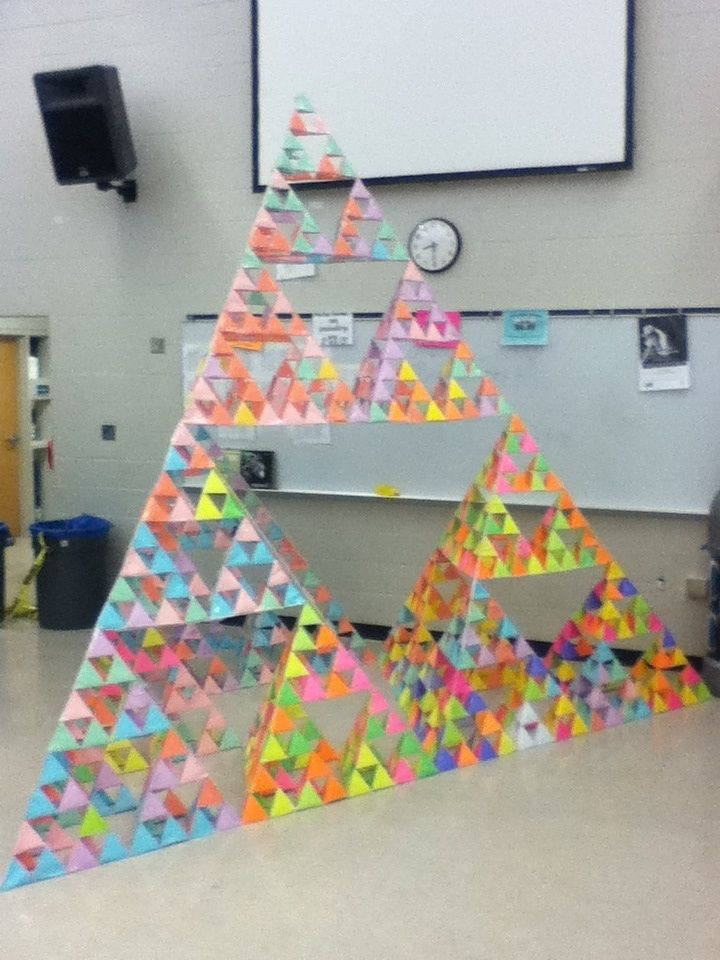 1024 paper triangles later - Imgur