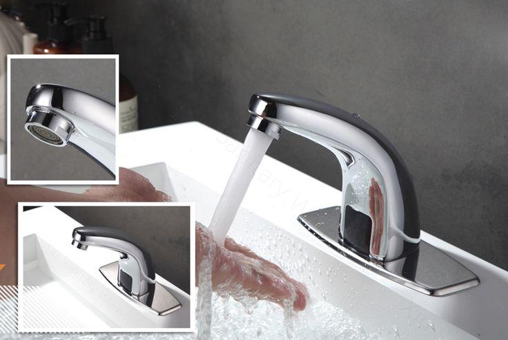 Bez-dotyková vodovodná batéria len na studenú vodu | Interiérový dizajn a architektúra E-SHOP, Dekorácie, vypínače, tapety, batérie, kovanie, svietidlá a dekorácie