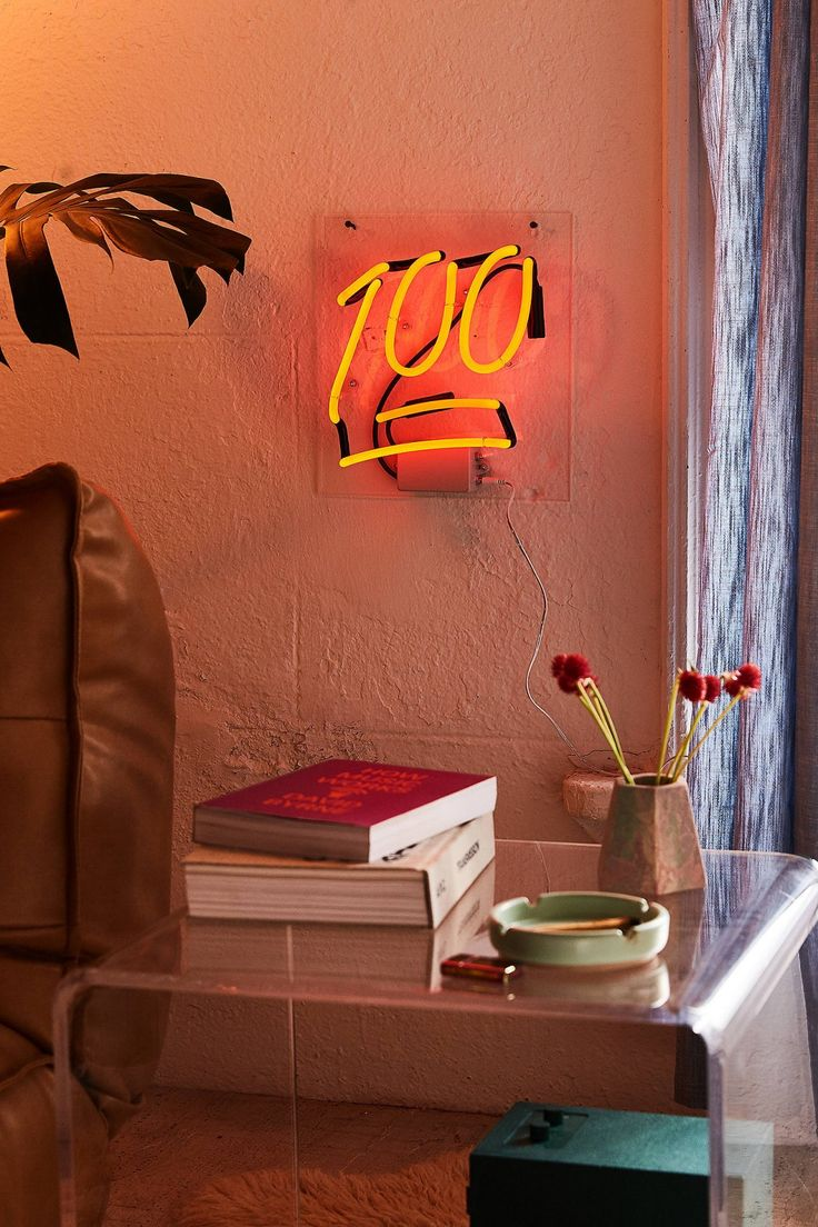 100 Neon Sign | Urban Outfitters