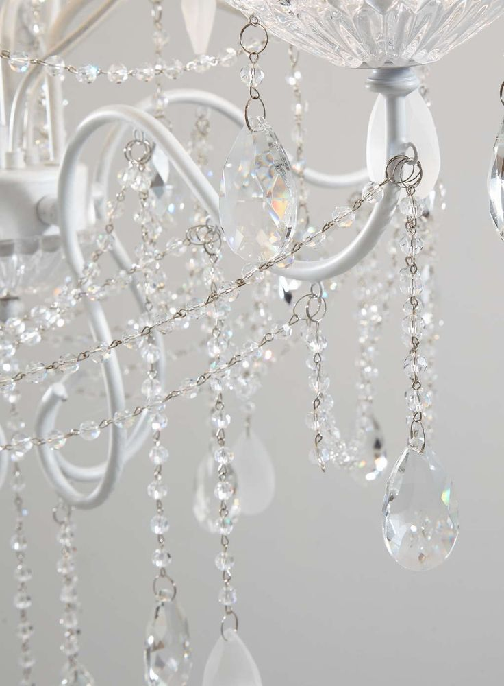 White Holly Willoughby Vintage Chandelier - BHS