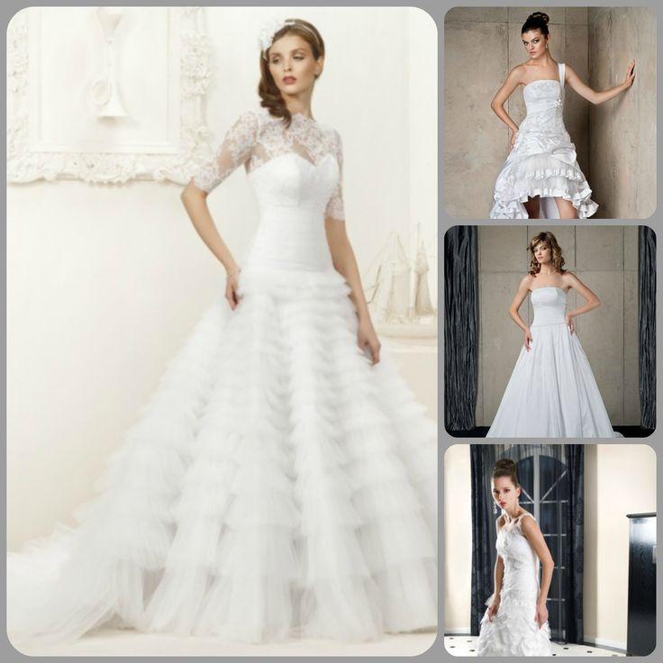 Suknie ślubne od 390 zł do 999 zł. Zapraszamy do naszego salonu w Katowicach i na allegro.