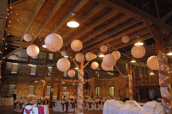 West Overton barn wedding - Scottdale PA nice looking but, Carson's is exclusive caterer with too many extra, hidden charges. Back to back weddings are not advisable!