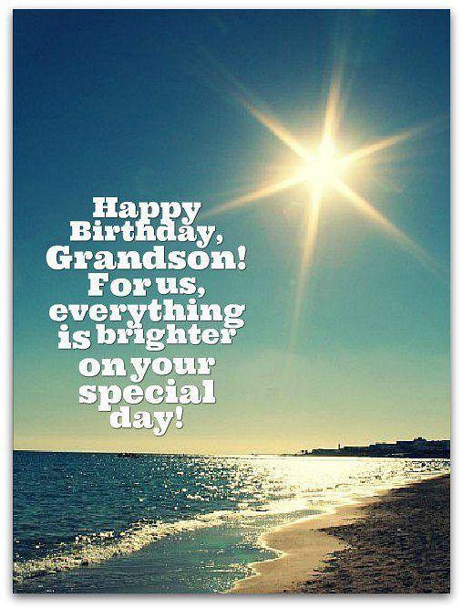 Birthday Wishes For Grand Son – Happy Birthday Wishes For Grand Son