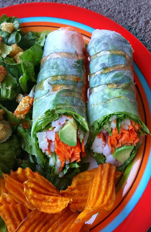 Paleo Vietnamese summer rolls - As listed in articles in Bon Appetite & Huffington Post, one of the top food trends of 2013 is eating raw - which is very close to Paleo -- or eating in the way we imagine our cave ancestors ate. Here are ten reasons eating raw is healthier: http://zenhabits.net/10-reasons-eating-raw-is-healthier-for-you-and-the-planet/ - The photo is a pin from Santy Coy's folder: http://www.pinterest.com/santycoy40/vegetarian/