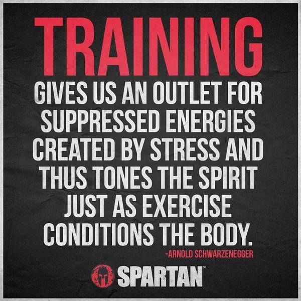 The training strengthens and frees the spirit