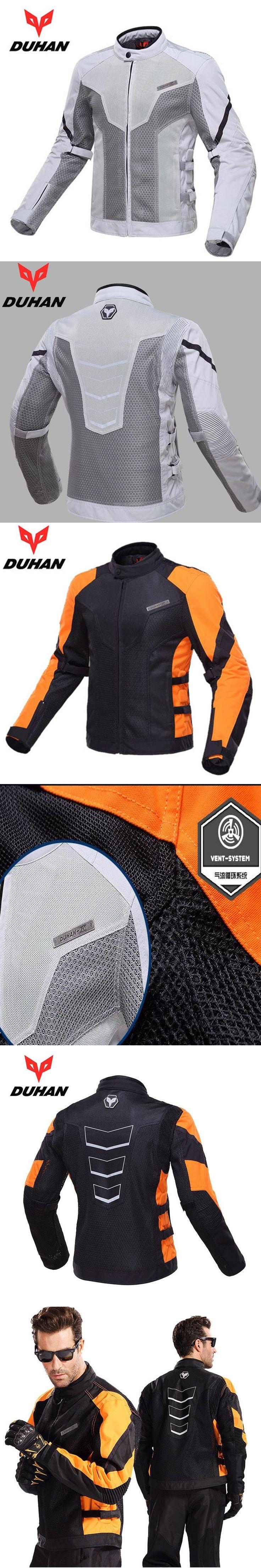 Duhan Men summer Breathable Mesh Cloth Motocross Off-Road Racing jacket motorbike clothing Motorcycle jacket