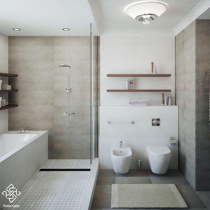 Лаконичный серый санузел в квартире для молодой семьи мы решили в уютной тепло-серой гамме. Изначально помещение имело вытянутую прямоугольную форму. Чтобы избежать ощущения дискомфорта мы четко спланировали функциональное зонирование и визуально разделили пространство на три части. Интересно вышла общая зона ванной и душевой, которая к тому же имеет естественное освещение. #дизайнинтерьераминск #интерьерминск #дизайнминск #дизайн #дизайнквартиры #красивыеинтерьеры