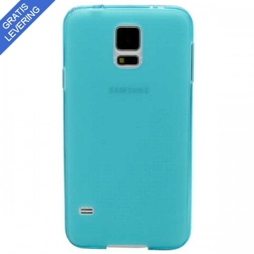 Turkis Samsung Galaxy S5 Cover - Frosted Design