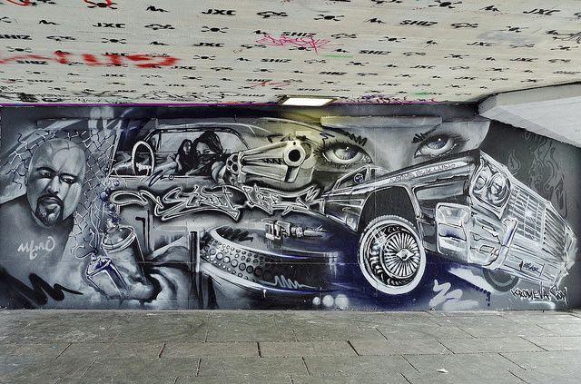 mr Shiz - #graffiti #piece - graffiti wall - #burner