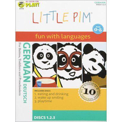 Little Pim: German - Set 1 (3 Discs)