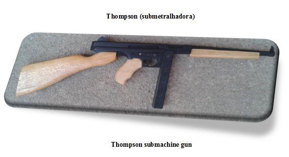 ArteFaz: Thompson submachine gun