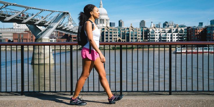 This is how many calories you burn from walking ...