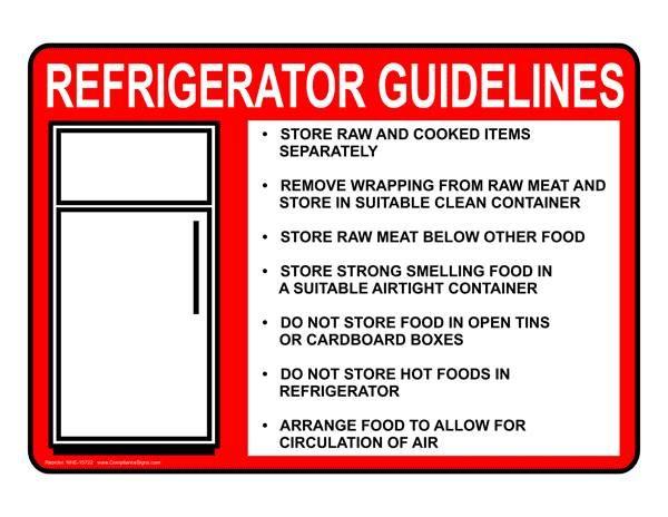 31 best REGULATION SIGNS images on Pinterest | Food safety, Safety ...