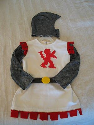Knight costume idea