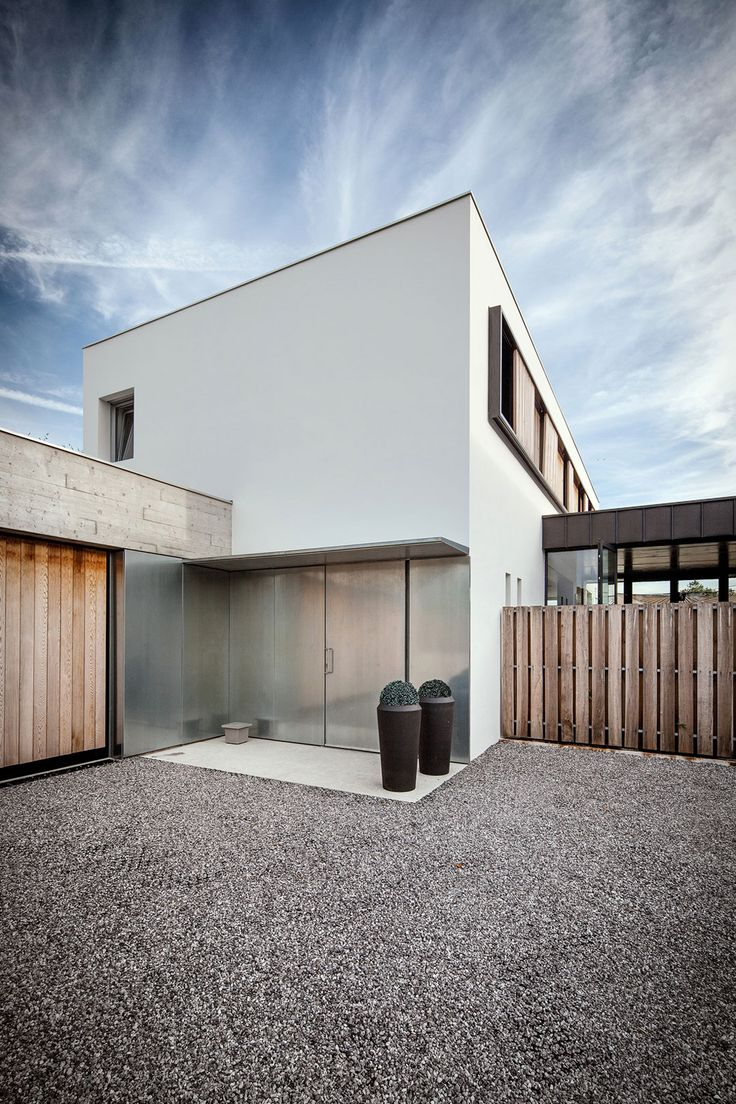Maison H   L Renovation Combines Three Modules Into One Home